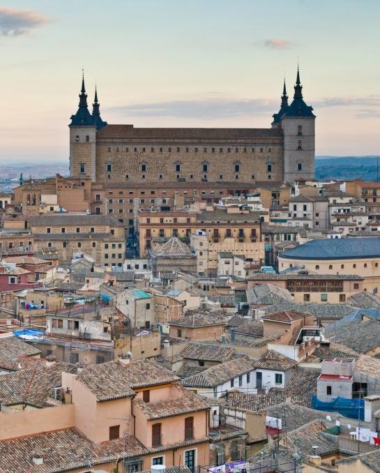 El Alcázar de Toledo. Foto: Wikipedia.