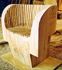 Gluska Oak Chair