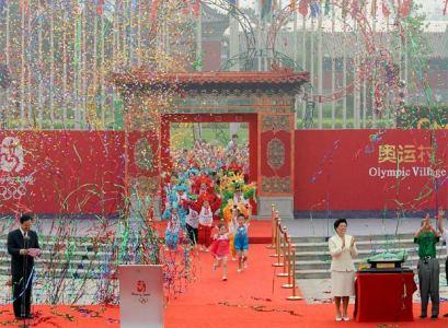 Inauguración Villa Olimpica (China 2008)