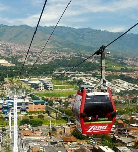El Metrocable de Medellin