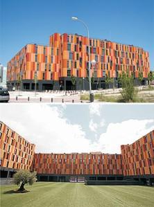 Edificio de VPO inspirado en Paul Klee