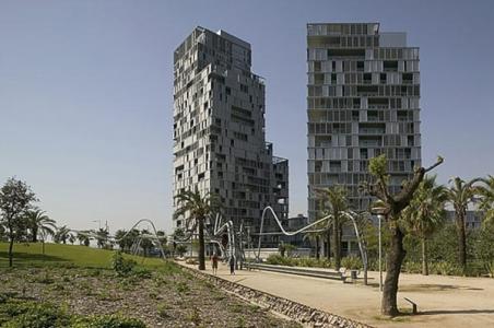 Viviendas de Clotet, Paricio y Abeba en Barcelona
