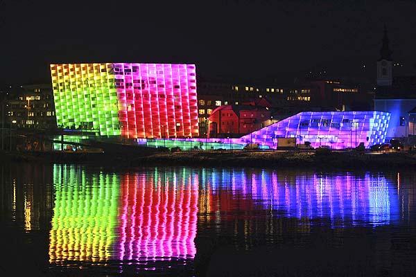 Centro Ars Electronica o Museo del Futuro, Linz, Austria