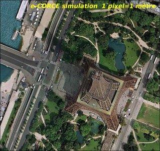 la Torre Eiffel con e-CORCE
