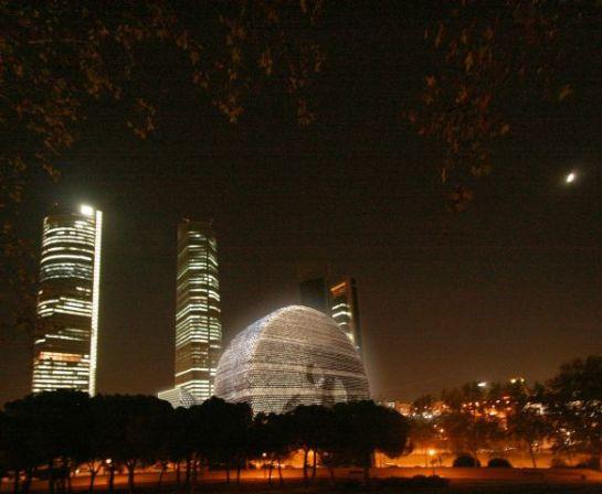 Centro Internacional de Convenciones, el 'Sol de Madrid' (recreación)
