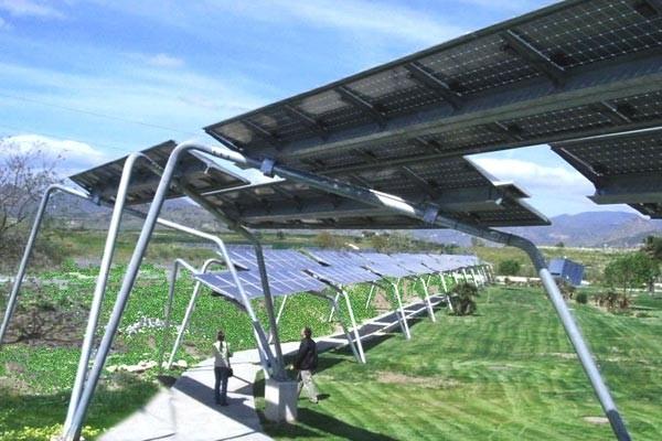 Pérgola fotovoltaica, Planta del Parque Tecnológico Andalucia