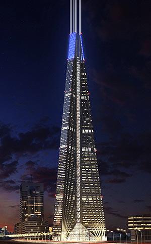 La torre Rusia de Foster