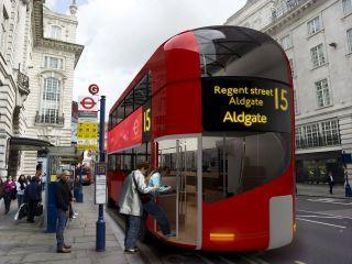 Autobús diseñado por Foster+partners y Aston Martin