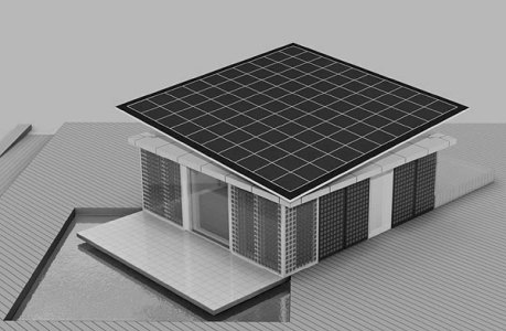 Prototipo de casa solar