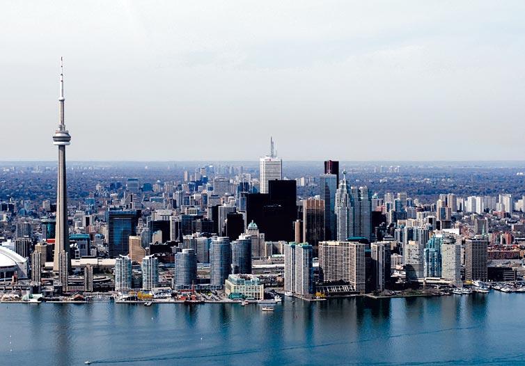 """""""Skyline"""" de Toronto, Canadá"""