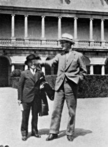 Le Corbusier en El Escorial (1928)
