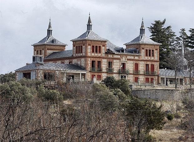 Palacio de El Enebral, en El Escorial (Comunidad de Madrid, España)