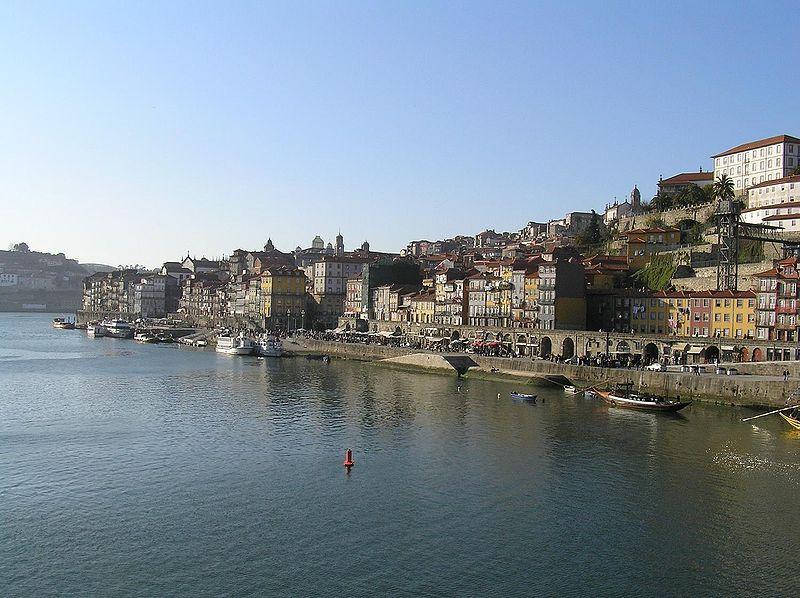 Ribera del Duero en Oporto.