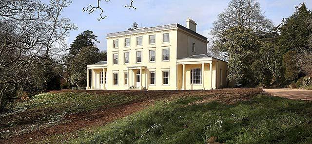 La casa de Agatha Christie en Devon, Inglaterra