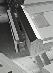 Maqueta del proyecto de Nieto y Sobejano.