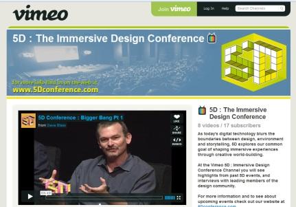 5D Conference en Vimeo