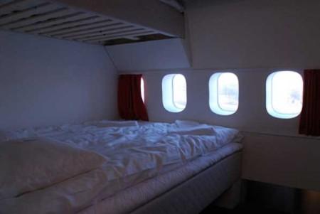 Boeing 747 de Pan Am convertido en hotel