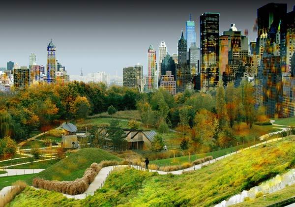 El 'Central Park' parisino concebido por el equipo Castro-Denissof. | AFP