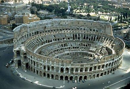 Vista aérea del Coliseo. | Efe
