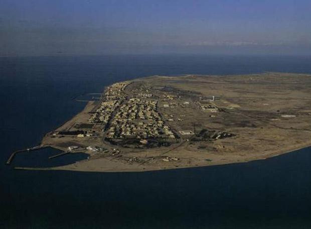Asentamiento en la isla kuwaití de Failaka, deshabitada desde la guerra del Golfo de 1990.