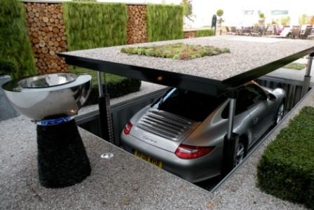 ¿Un escondite o un garaje ¿Un escondite o un garaje ¿Escondite o garage del futuro?
