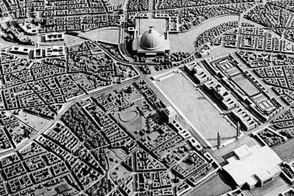 La maqueta del proyecto 'Germania' de Hitler y Speer