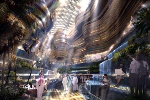 Masdar, que significa fuente en árabe, tendrá 40.000 habitantes