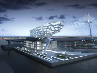 Port House, Amberes - Proyecto de Zaha Hadid