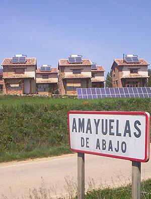 En total, por el momento, se han levantado 10 viviendas bioclimáticas