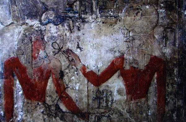 Imagen de uno de los cuatro templos faraónicos amurallados