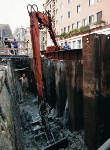Limpieza de un canal veneciano