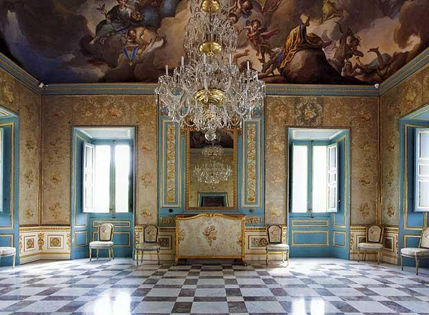 Una decoración suntuosa caracteriza cada estancia de la Casita.
