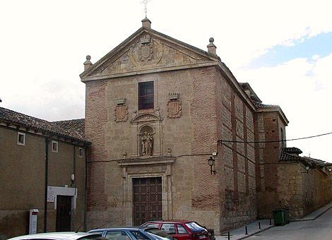 Convento de las Carmelitas en la localidad vallisoletana de Medina de Rioseco.