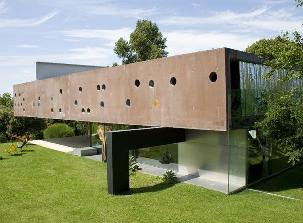 Edificio de Rem Koolhaas en el que se desarrolla la película.