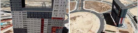 Modelo 3D del Edificio Mirador de Madrid. (Imagen: 20MINUTOS.ES)