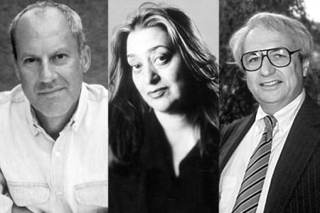 Norman Foster, Zaha hadid y Frank Gehry