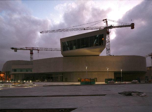 Museo de Arte y Arquitectura del XXI (MAXXI) en Roma proyectado por Zaha Hadid.