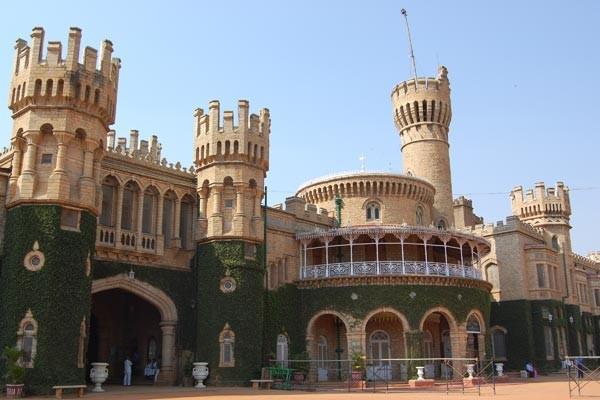 Palacio de Bangalore, inspirado en Windsor . Foto:María Fernanda Lago