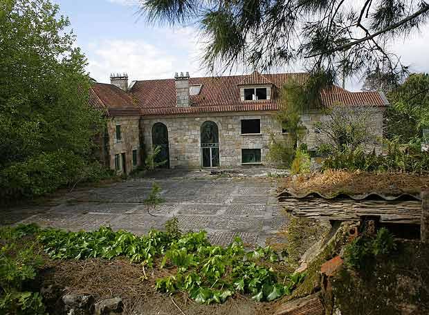 Pazo Villa Real, en Vilanova de Arousa, Pontevedra, Galicia.