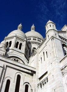 Basílica del Sagrado Corazón en Montmartre, el París más bohemio