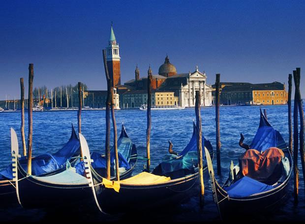 Vista de la isla de San Giorgio Maggiore, en Venecia