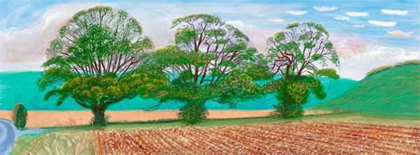 Arboles en Otoño cerca de Thixendale (2008)