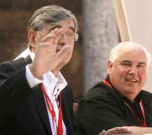 J.M. Hernández y W. Curtis en el debate | EFE