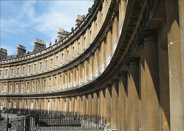 De la era romana de Bath quedan muchas evidencias
