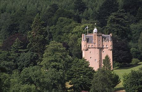El castillo de Craigevar está considerado como el arquetipo del castillo escocés