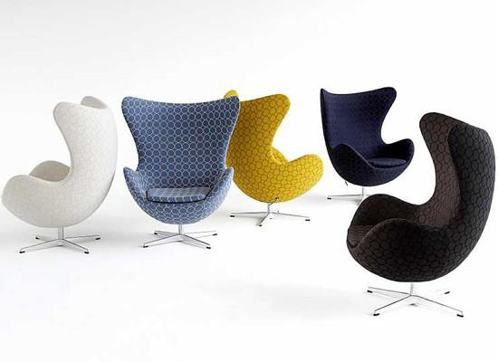 Diseño de autor: Egg Chair de Arne Jacobsen - Fritz Hansen