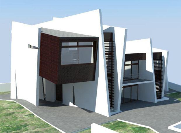 La vivienda Gaia 7, diseñada por Luis de Garrido