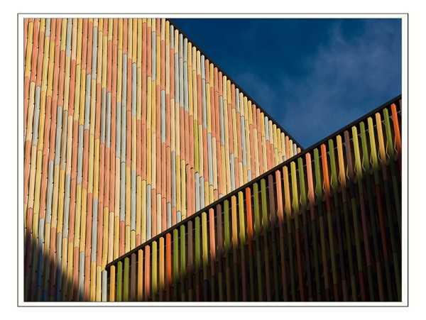 Detalle fachada nuevo Museo Brandhorst, Münich - foto De Susanne-K.