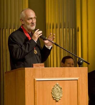 Peter Zumthor.  Foto: Gentileza: Prensa Legislatura