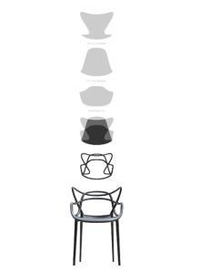 Silla Masters de Philippe Starck.